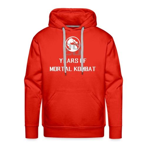 25 Years of Mortal Kombat: Mortal Kombat X ver. 01 - Men's Premium Hoodie