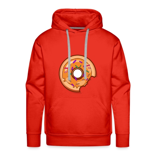 Where is one Part of my Donut? - Männer Premium Hoodie