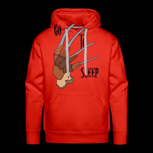 Go To Sleep - tributo a Freddy Krueger - Felpa con cappuccio premium da uomo
