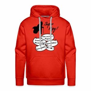 Je suis un Super Papy ! - Sweat-shirt à capuche Premium pour hommes