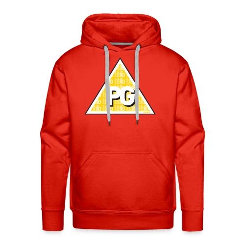 Plato games Logo Groot - Mannen Premium hoodie