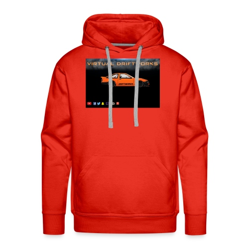 virtual driftworks preview - Men's Premium Hoodie