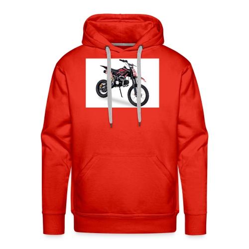 Crossbike JC125 cc Schwarz 48422D31323 - Männer Premium Hoodie