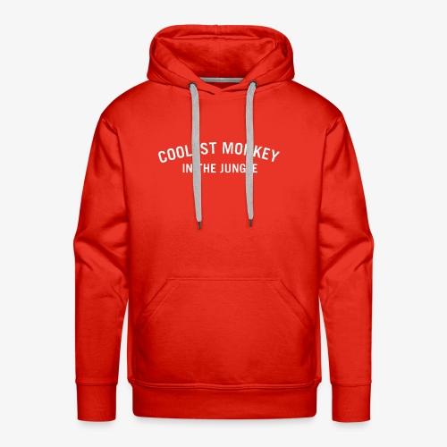 COOLEST MONKEY IN THE JUNGLE - Männer Premium Hoodie