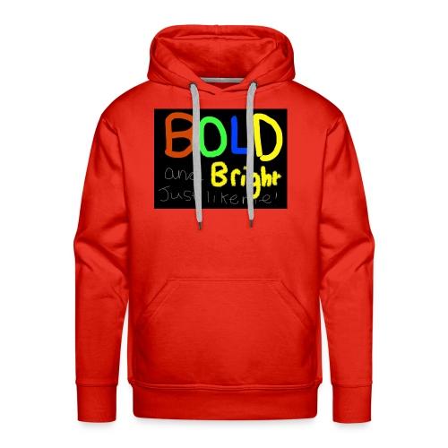 Bold and bright - Men's Premium Hoodie
