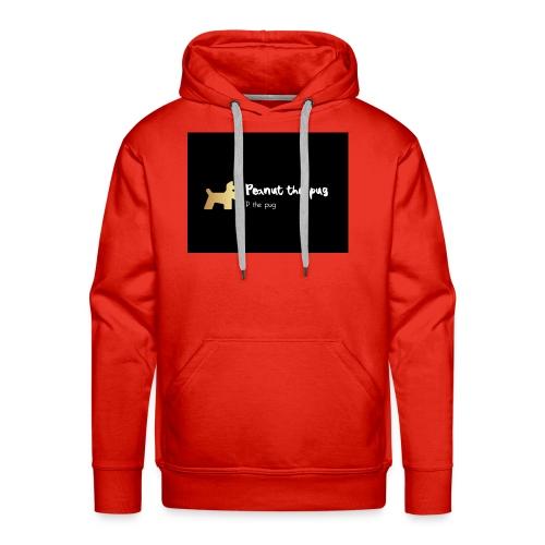 Peanut the Pug Edition - Men's Premium Hoodie
