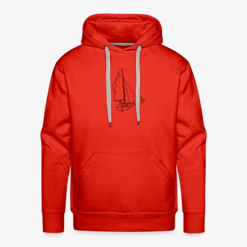 420er Segeln - Männer Premium Hoodie