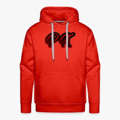 PX Logo 1 red black - Männer Premium Hoodie