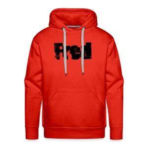 Fred logo - Herre Premium hættetrøje