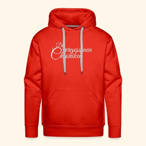 Die vergessenen Chroniken Logo (weiß) - Männer Premium Hoodie