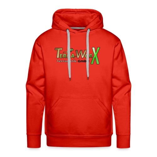 Terra-Worx Logo - Männer Premium Hoodie