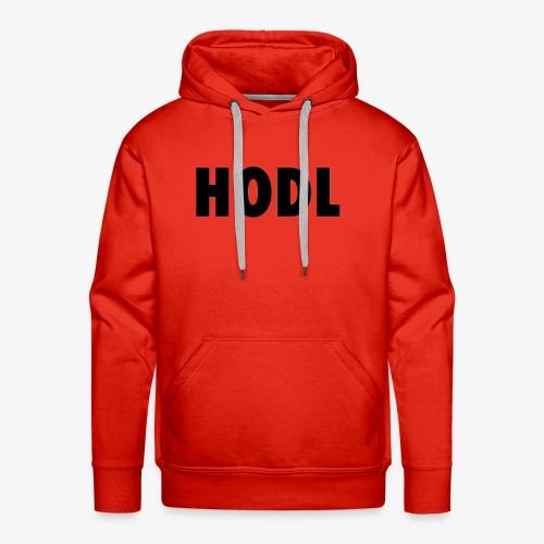 JUST HODL - Mannen Premium hoodie