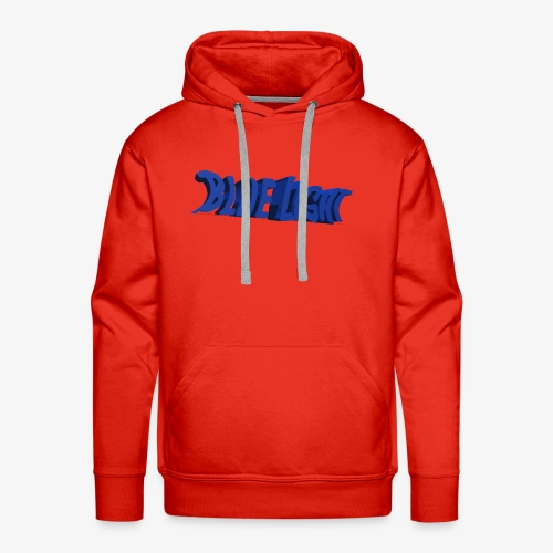 Blue Light - Mannen Premium hoodie