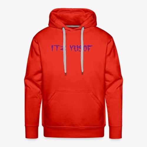 my new merch itz yusof - Men's Premium Hoodie