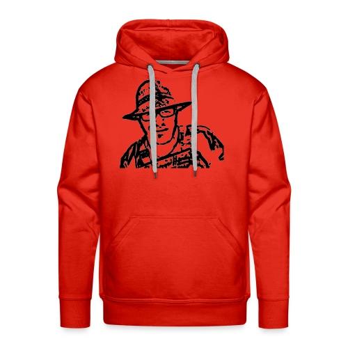 Rigotti LogoSW Transparent - Männer Premium Hoodie