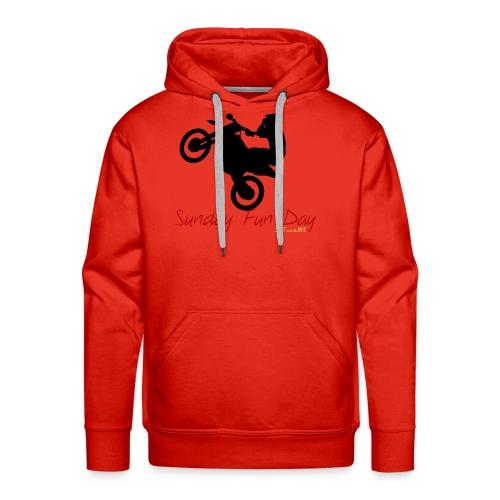 Sunday funday 3 - Sweat-shirt à capuche Premium pour hommes