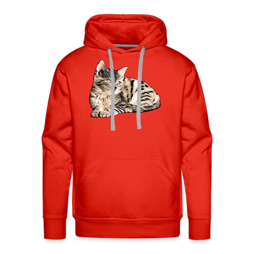 Süße Katze - GOutside - Männer Premium Hoodie