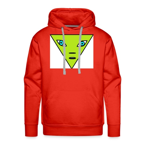 Alien with blue eyes - Mannen Premium hoodie