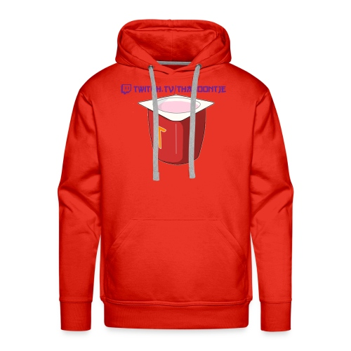 Snapback Thanoontje logo - Men's Premium Hoodie