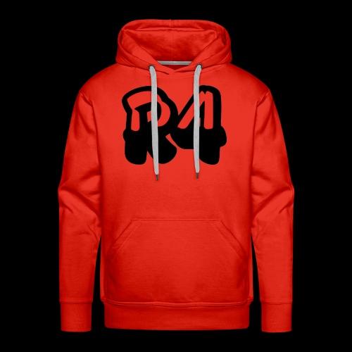 R4KS1NG logo - Felpa con cappuccio premium da uomo