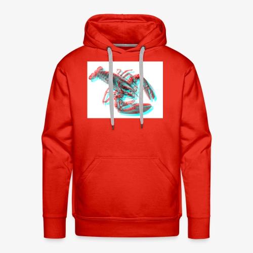 Homard 3D - Sweat-shirt à capuche Premium pour hommes