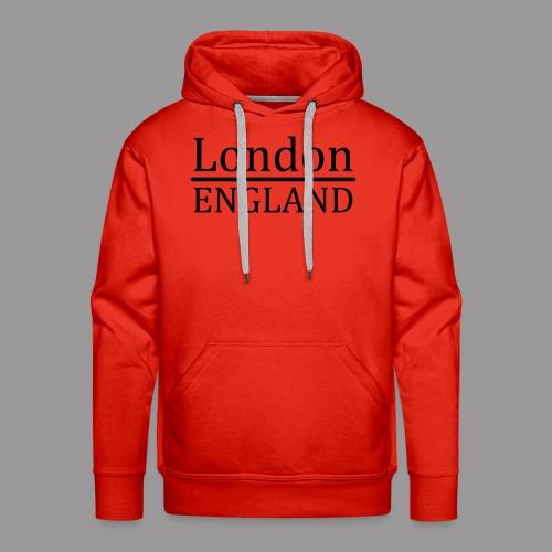 London England - Männer Premium Hoodie