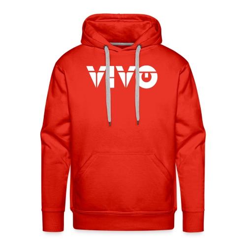VIVO BLANCO - Sudadera con capucha premium para hombre