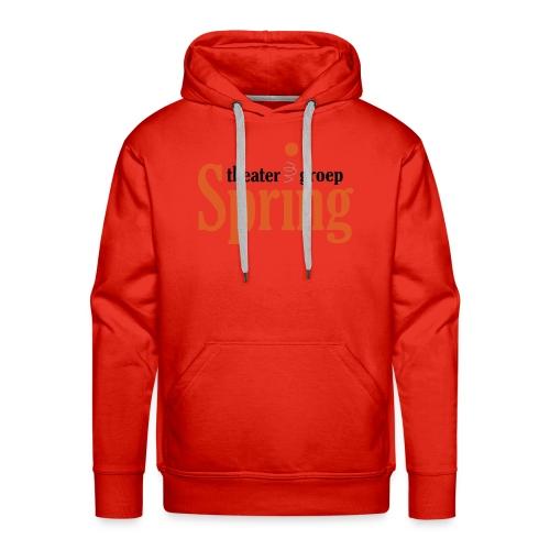 Gymtas met logo van Theatergroep Spring - Mannen Premium hoodie