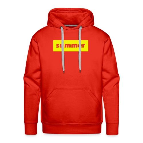 summer - Mannen Premium hoodie