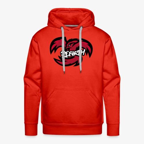logo rebirth2 - Sweat-shirt à capuche Premium pour hommes