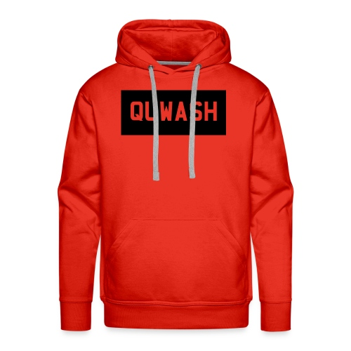 QUWASH - Mannen Premium hoodie