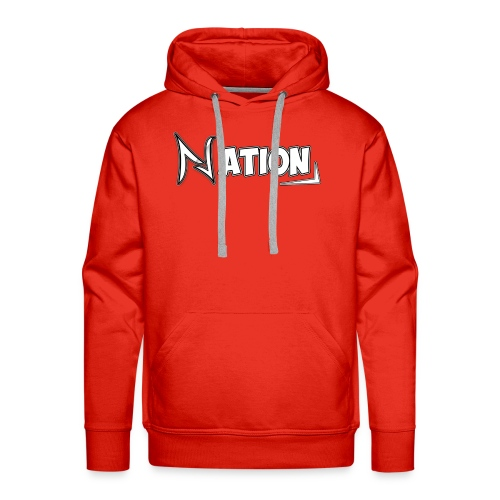 Nation Logo Design - Men's Premium Hoodie