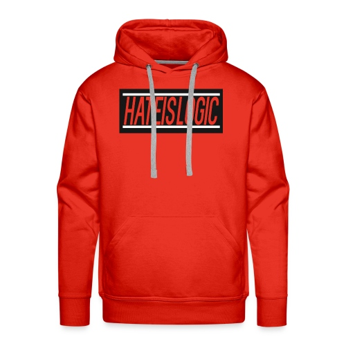 Hateislogic Official Brand - Men's Premium Hoodie