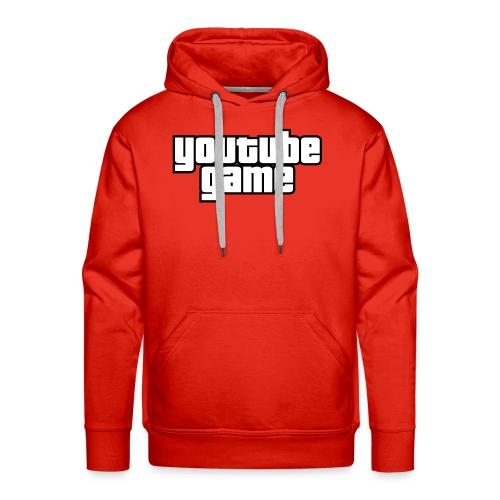 Youtube Game - Sweat-shirt à capuche Premium pour hommes