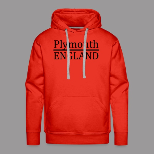 Plymouth England - Männer Premium Hoodie