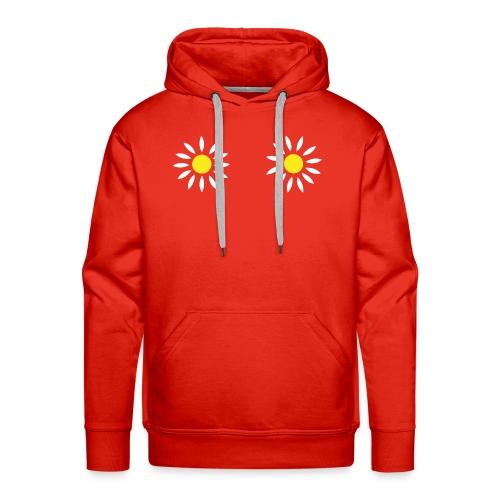 2 Bloemen Vrouwen Hemd - Mannen Premium hoodie