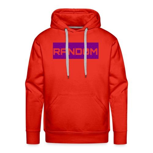 RAND0M SMALL LOGO - Men's Premium Hoodie