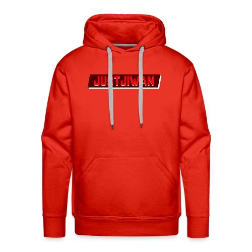 JustJiwan Snapback - Mannen Premium hoodie