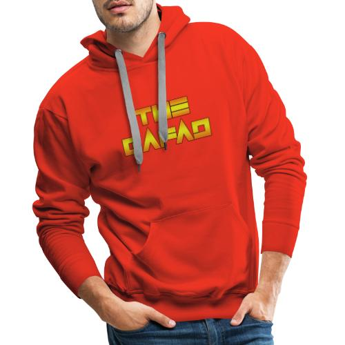 The Gafad - Official Orange/Yellow Logo - Felpa con cappuccio premium da uomo