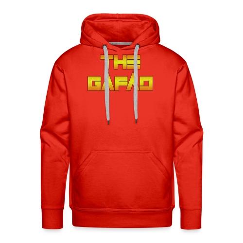 The Gafad - Official Orange/Yellow Logo - Felpa con cappuccio premium da uomo