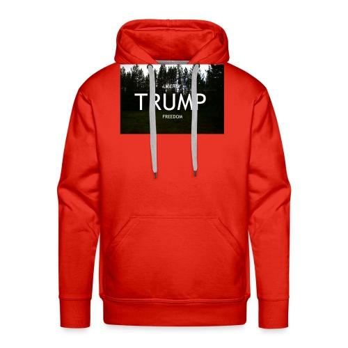 TRUMP, Freedom & Liberty - Men's Premium Hoodie