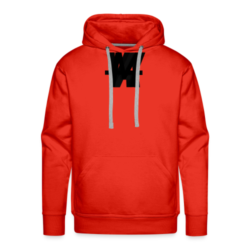 (Limited Edition) AWM Corner Logo Blackout - Men's Premium Hoodie