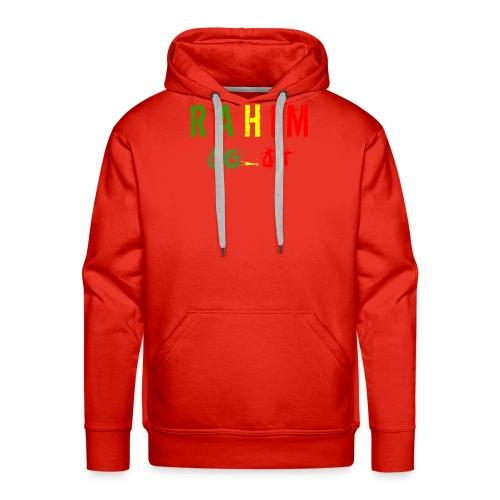 t-shirt design Rahim - Sweat-shirt à capuche Premium pour hommes