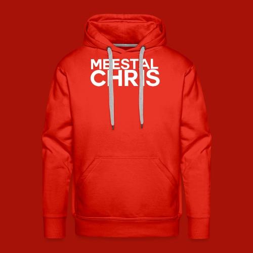 MeestalChris Logo shirt - Mannen Premium hoodie