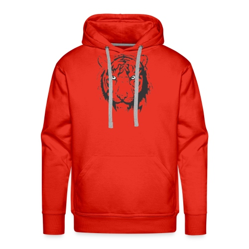 Tiger - Sudadera con capucha premium para hombre