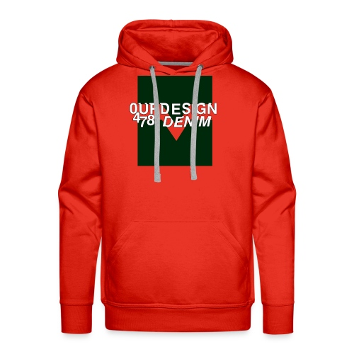OD-ID: 004 The Green Crack - Men's Premium Hoodie