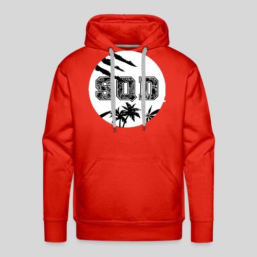 SQD tshirt logo wit - Mannen Premium hoodie