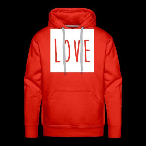 Love Women - Men's Premium Hoodie