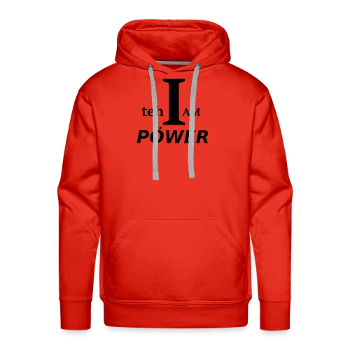 I am teh Power - Men's Premium Hoodie