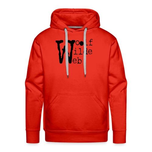 Camiseta Woolf Wilde Web - Sudadera con capucha premium para hombre